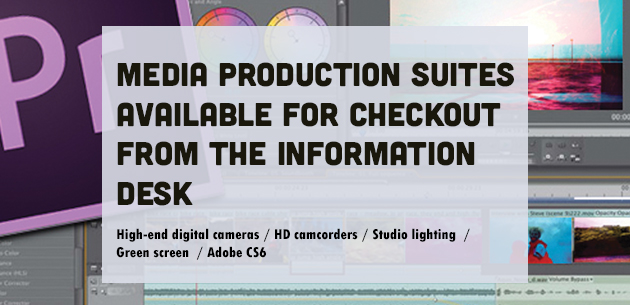 Media Production Suites available for checkout image