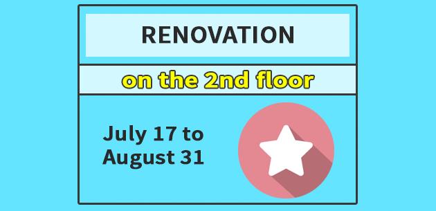 Renovation on the 2nd floor slider